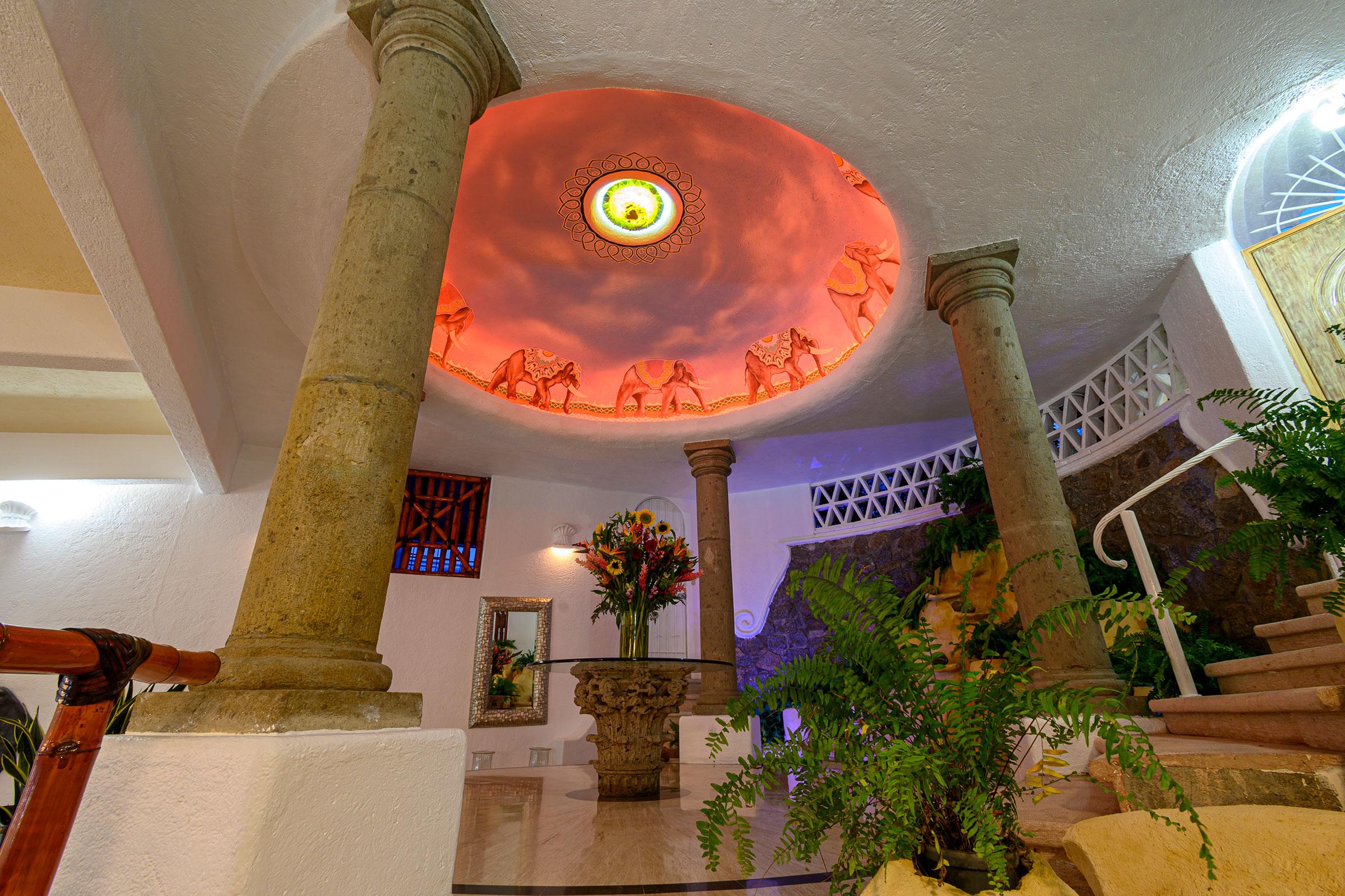 Cupula de elefante de Casa Buenos Aires, Acapulco
