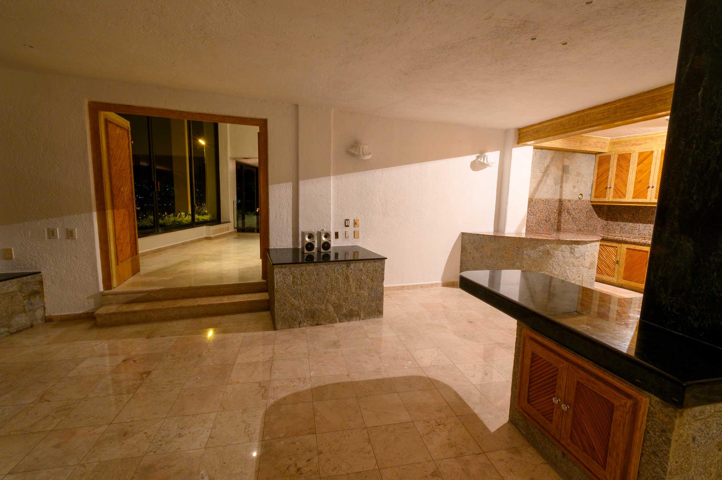 Departamento del propietario, Casa Buenos Aires and adjacent lot, Acapulco